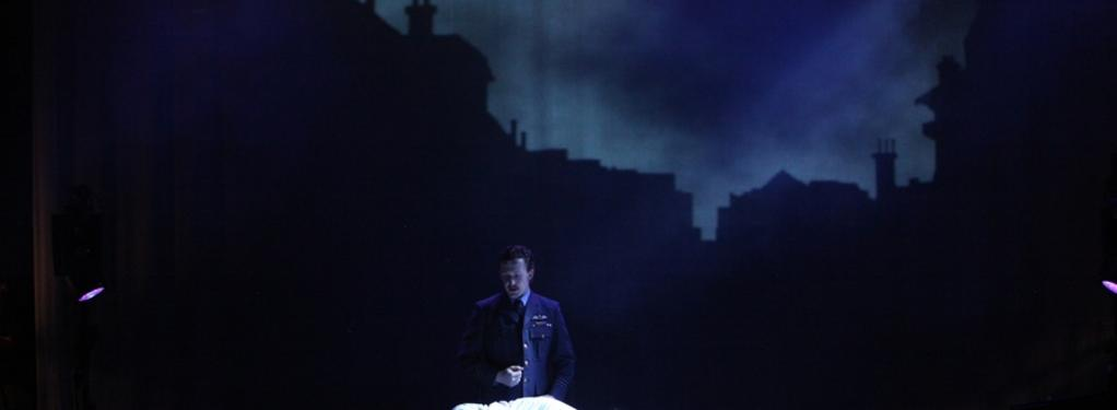 Photograph from Tommy - lighting design by Rob Halliday