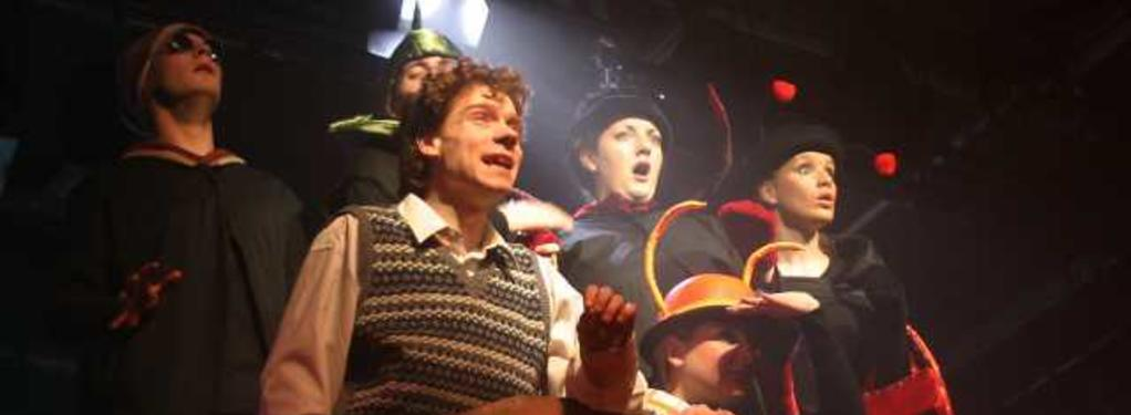 Photograph from James and the Giant Peach - lighting design by Guy Lee
