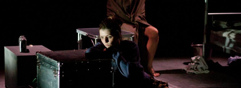 Photograph from After The End - lighting design by Catherine Webb
