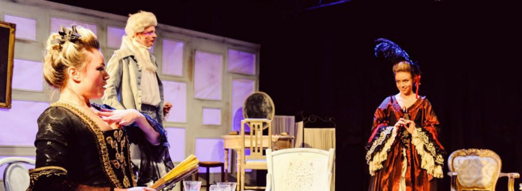 Photograph from The School For Scandal - lighting design by Martin McLachlan