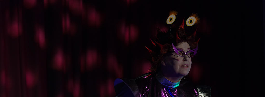 Photograph from Little Panto of Horrors - lighting design by Jack Holloway