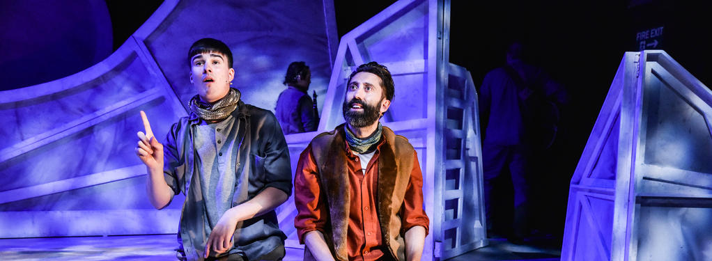 Photograph from Soonchild - lighting design by Callum MacDonald