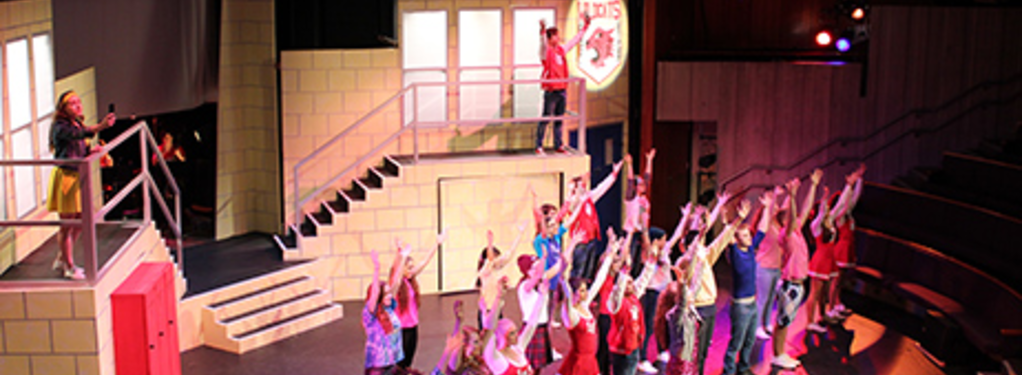 Photograph from High School Musical - lighting design by Steve Lowe
