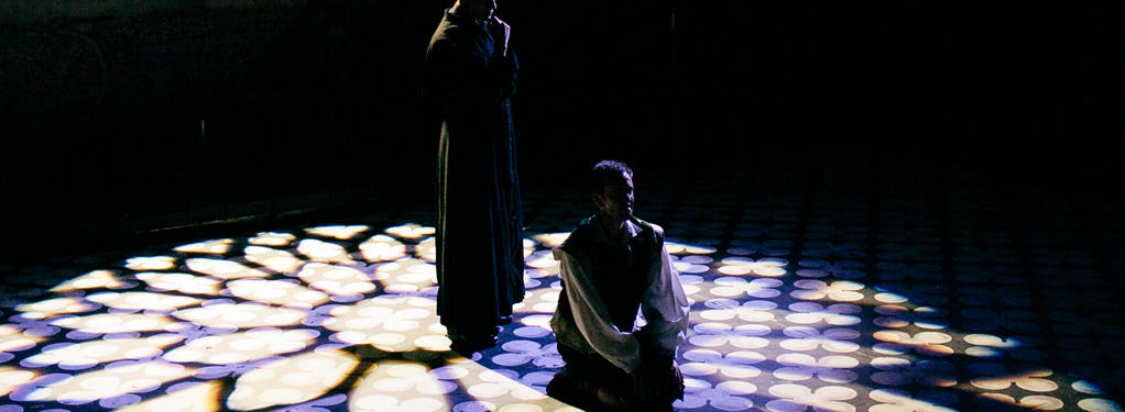 Photograph from Bare: A Pop Opera - lighting design by tmowat