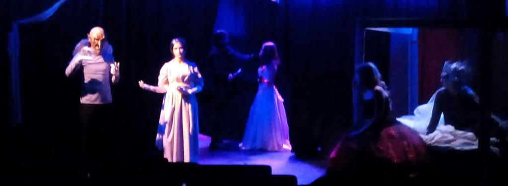 Photograph from Beauty and the Beast - lighting design by Steve Lowe