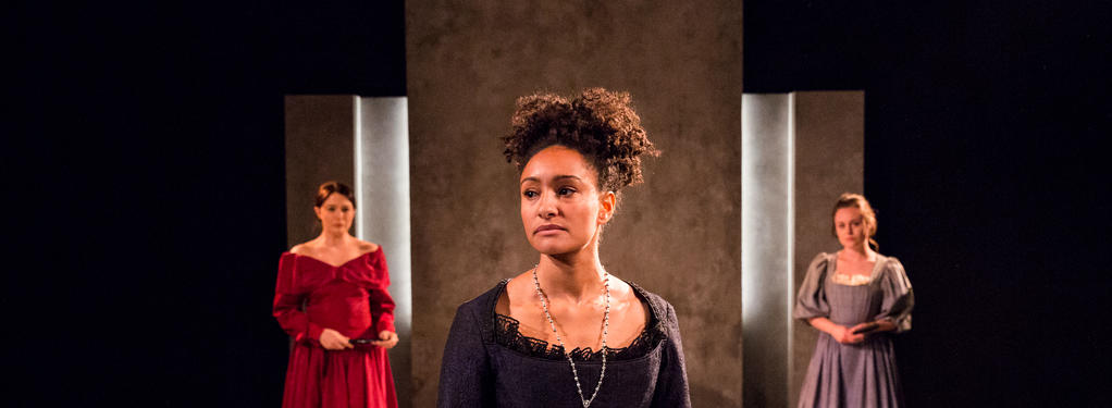 Photograph from The Cardinal - lighting design by Peter Harrison