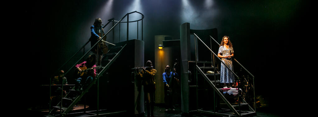Photograph from Working (musical) - lighting design by Wjeh.Will