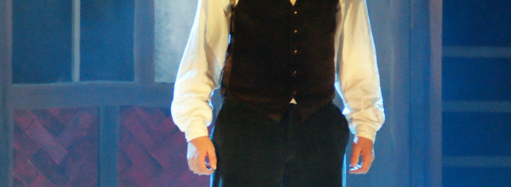 Photograph from Sweeney Todd - lighting design by Rachel Cleary