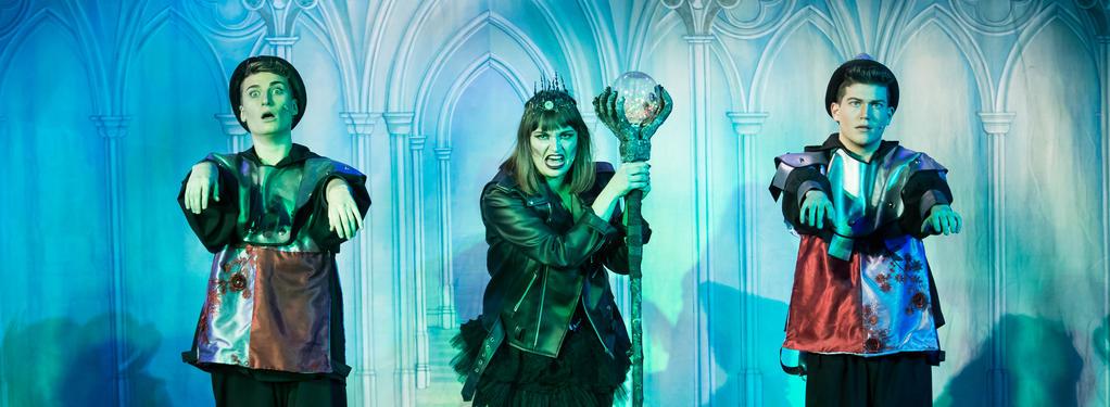 Photograph from Sleeping Beauty - Pantomine - lighting design by Callum MacDonald