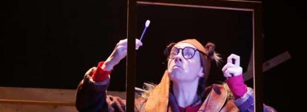 Photograph from Humbug! The Hedgehog Who Couldn't Sleep - lighting design by Jason Addison
