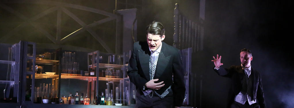 Photograph from Jekyll and Hyde the Musical - lighting design by Callum MacDonald