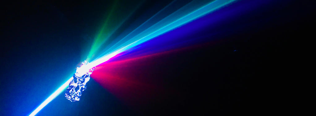 Photograph from Aurora - lighting design by Azusa Ono