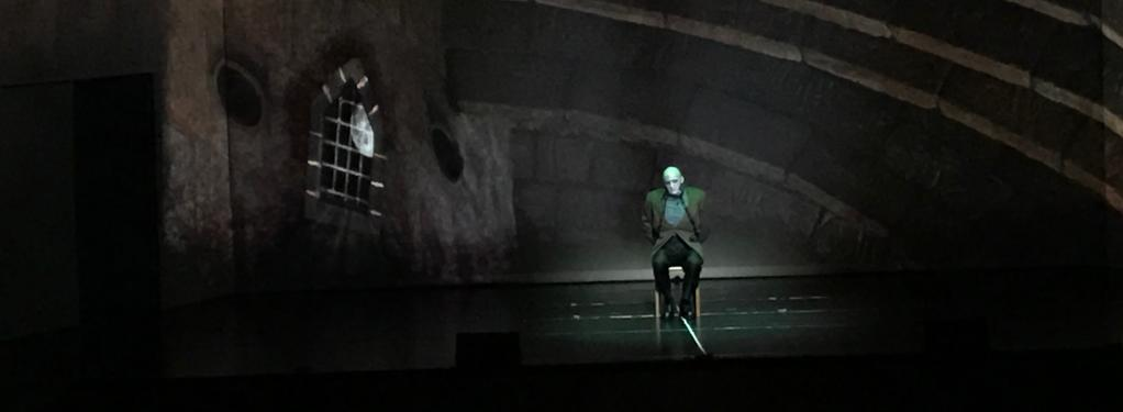 Photograph from Young Frankenstein - lighting design by Ant-Lux