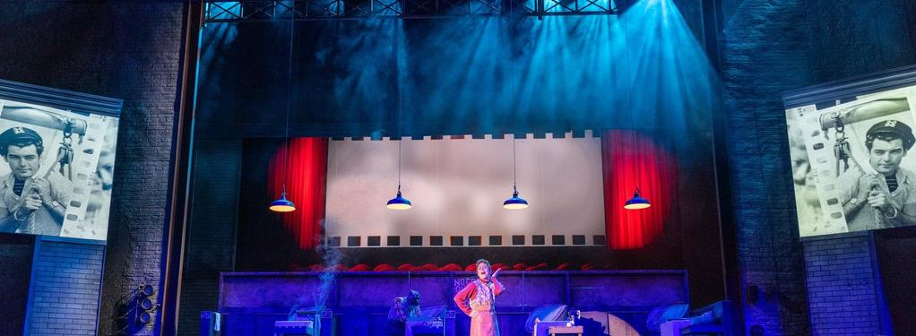 Photograph from The Steamie - lighting design by Grant Anderson