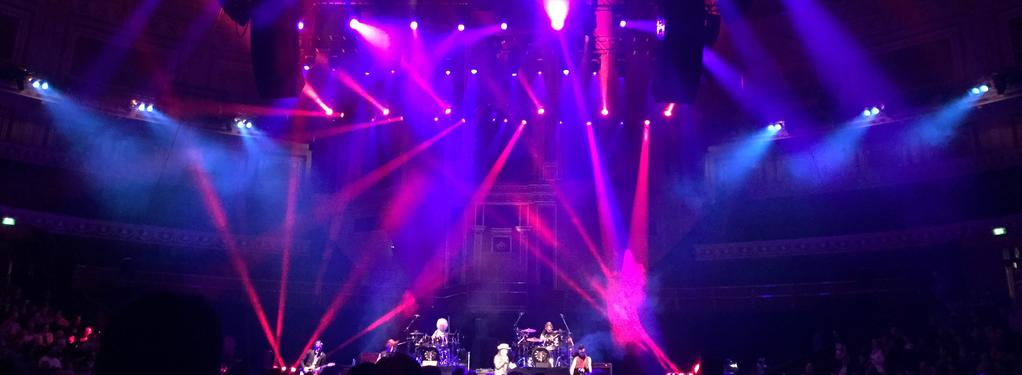 Photograph from Adam Ant Anthems - lighting design by Pete Watts