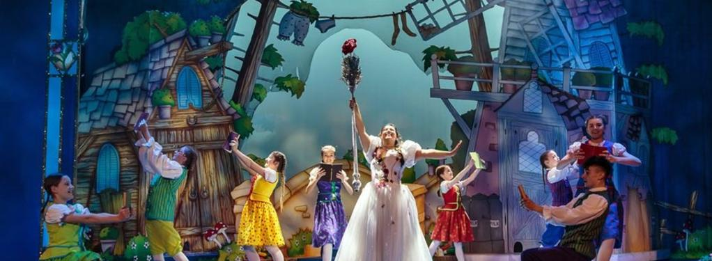 Photograph from Beauty & The Beast - lighting design by Matt Ladkin