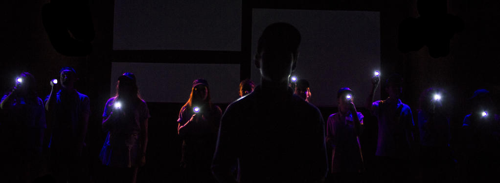 Photograph from Multiplex - lighting design by Jason Addison