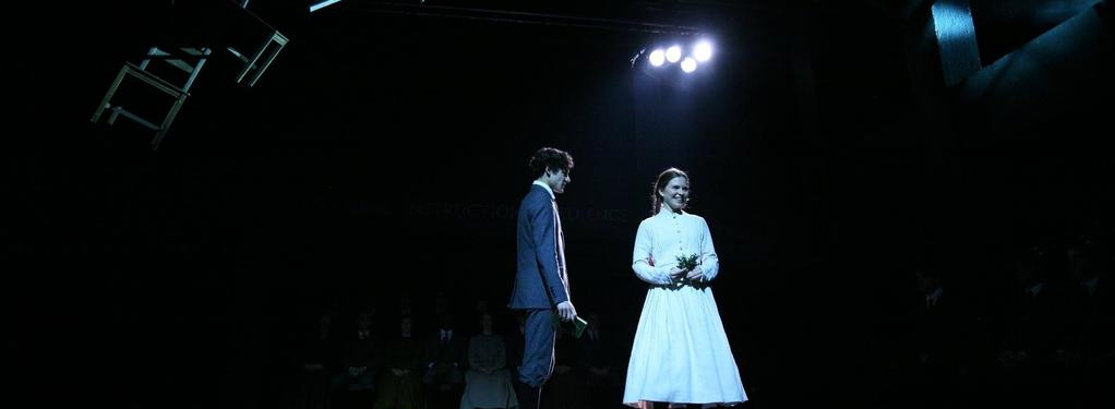 Photograph from Spring Awakening - lighting design by JamesM