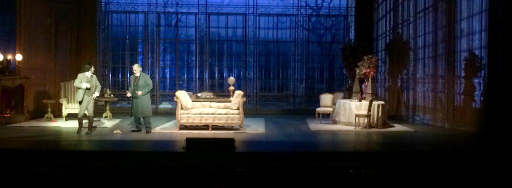 Photograph from La Traviata - lighting design by Rick Fisher