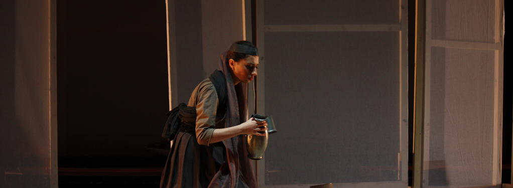 Photograph from Nazar the Brave - lighting design by Claire Childs