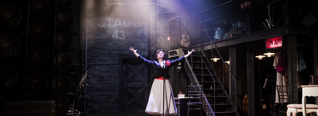 Photograph from JUDY! - lighting design by Jack Weir