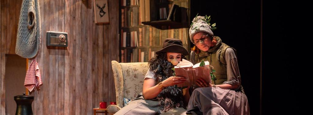 Photograph from Knock Knock - lighting design by JacobGowler