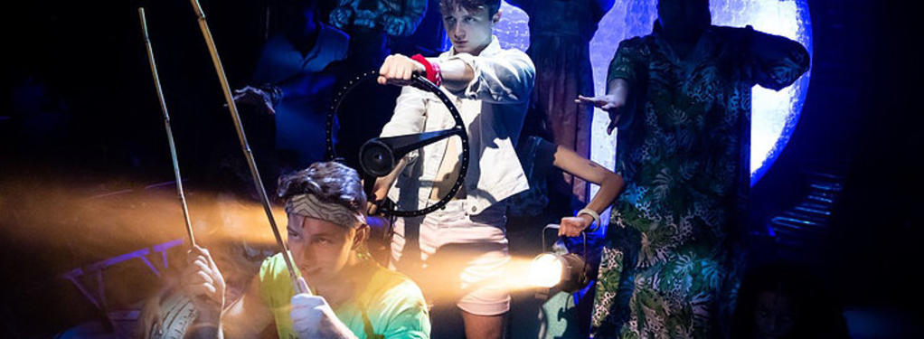 Photograph from Once on this Island - lighting design by AndrewExeter