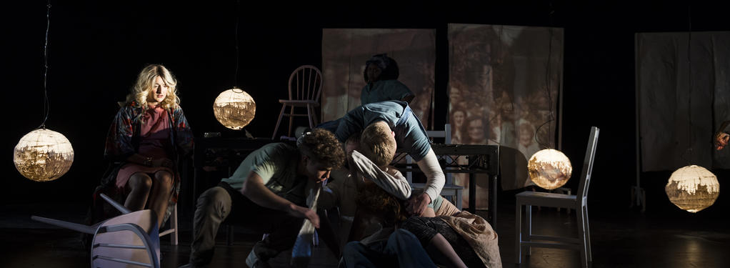 Photograph from The Sound & the Fury - lighting design by Joshua Gadsby