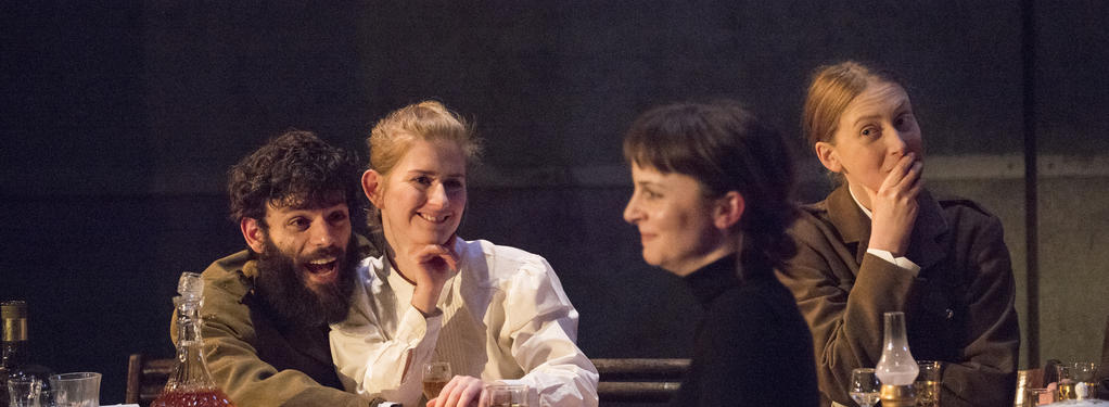 Photograph from The Three Sisters - lighting design by Joshua Gadsby