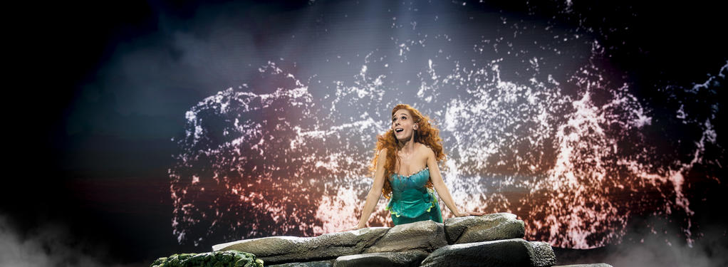 Photograph from The Little Mermaid - lighting design by Luc Peumans