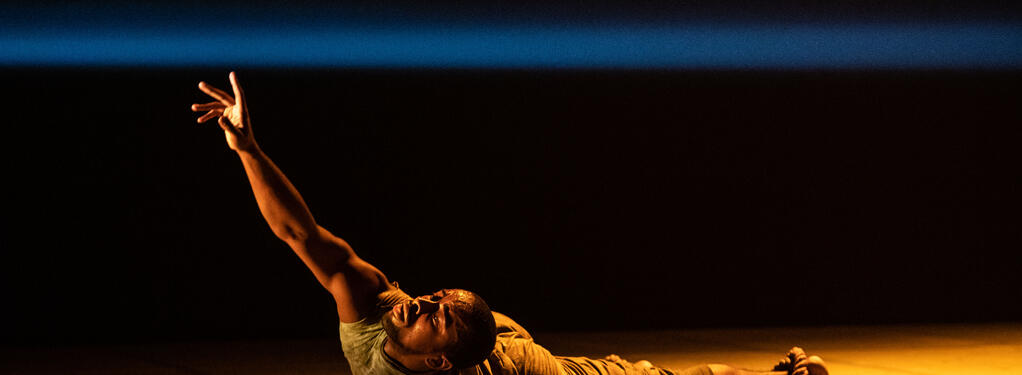 Photograph from Black Waters - lighting design by KJohnson