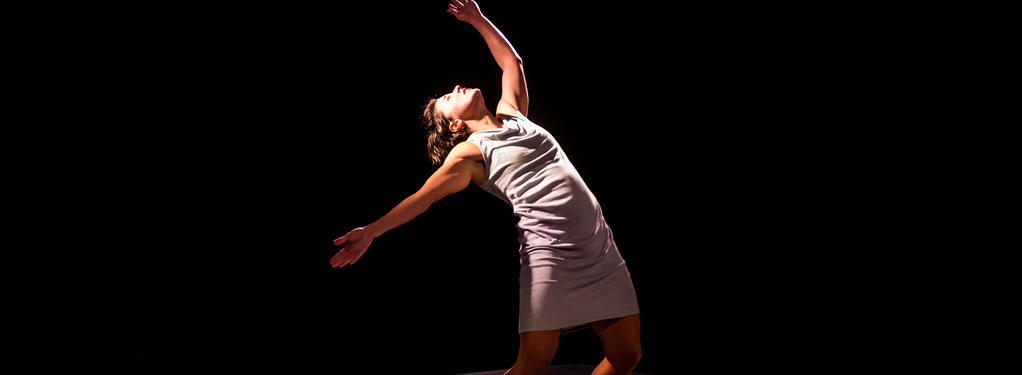 Photograph from PUSH - lighting design by Claire Childs