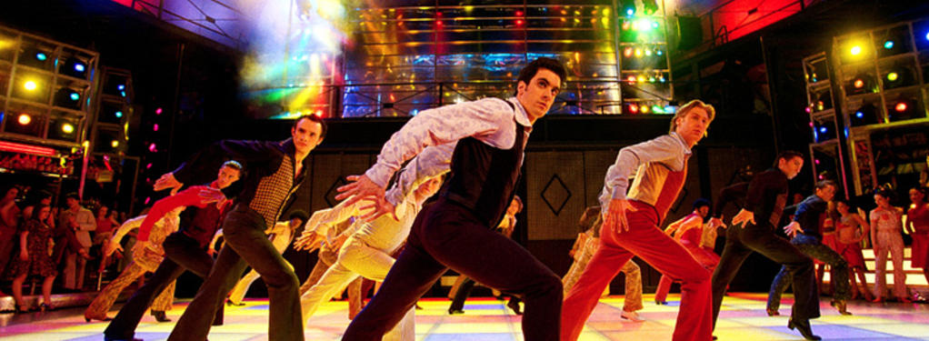 Photograph from Saturday Night Fever - lighting design by Durham Marenghi