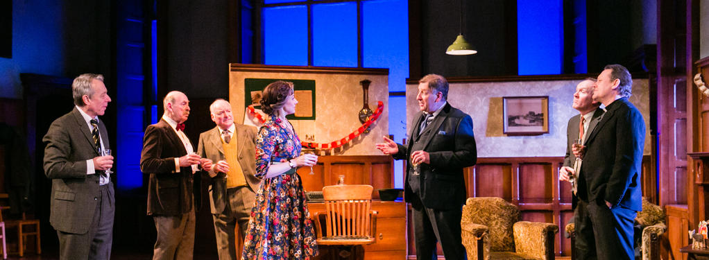 Photograph from Shadowlands - lighting design by Alex Wardle