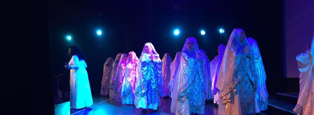 Photograph from Sister Act the Musical - lighting design by LeeStoddart