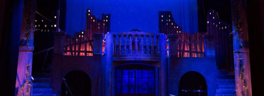 Photograph from Treasure Island - lighting design by Chris Flux