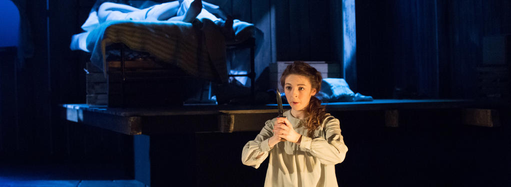 Photograph from Gabriel - lighting design by Will Evans