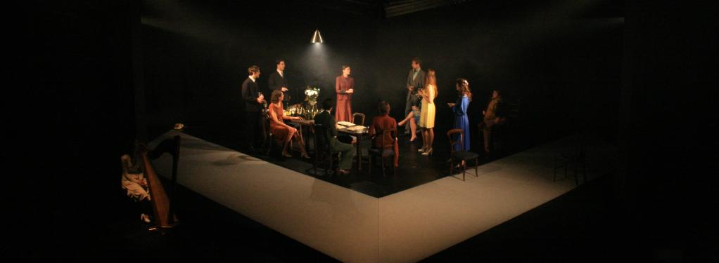 Photograph from The Wedding Party - lighting design by Nick Moran