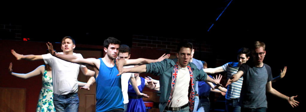 Photograph from West Side Story - lighting design by CatjaHamilton