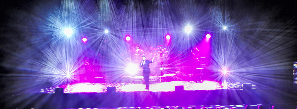 Photograph from Saturday Night At The Movies - lighting design by grahamrobertslx