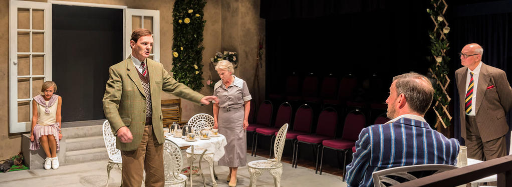 Photograph from For Services Rendered - lighting design by Peter Vincent