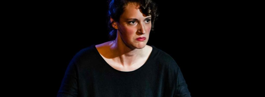 Photograph from Fleabag - lighting design by Elliot Griggs