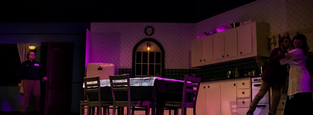 Photograph from UNEXPECTED TENDERNESS - lighting design by Wally Eastland