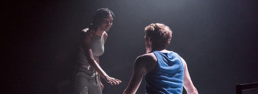 Photograph from Othello - lighting design by CatjaHamilton