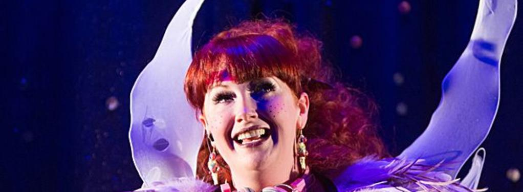 Photograph from Peter Panto and the Incredible Stinkerbell - lighting design by Kate Bonney