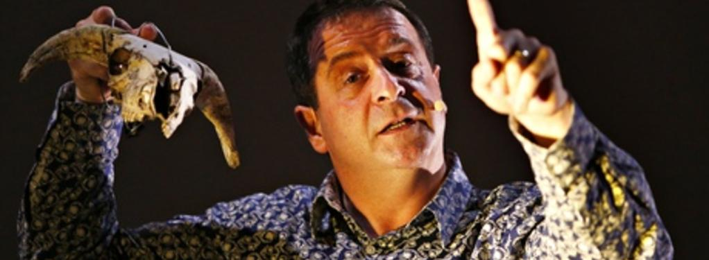 Photograph from Cuckooed - lighting design by Kate Bonney