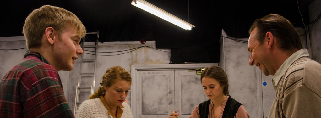 Photograph from Only Forever - lighting design by Dan Saggars