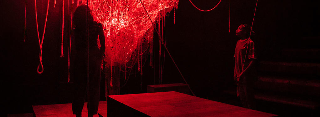 Photograph from Seven methods of killing Kylie Jenner - lighting design by Jessica Hung Han Yun