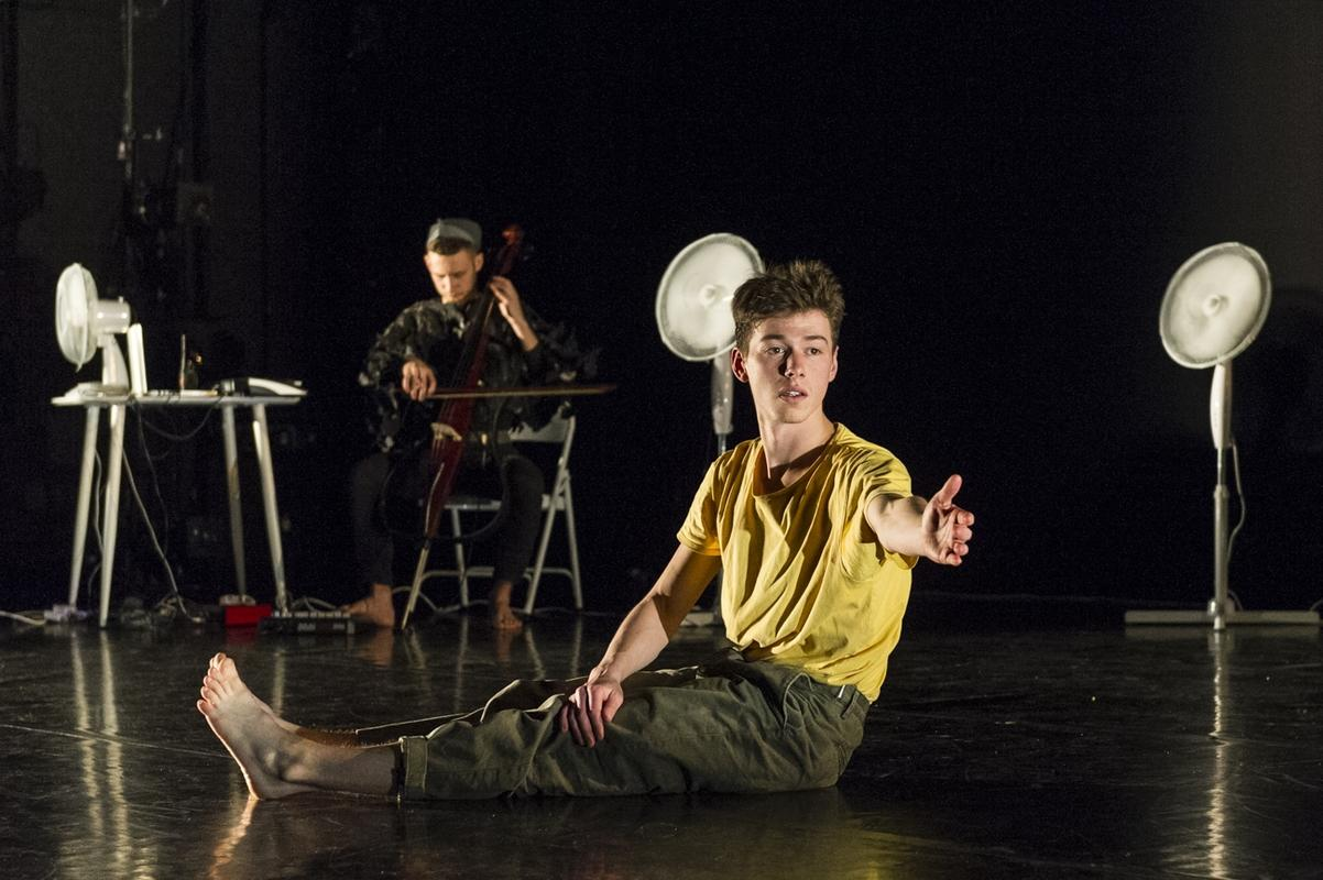 Photograph from In Good Company - lighting design by Joshua Gadsby