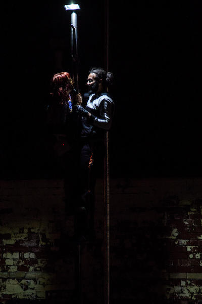 Photograph from The Darkest Corners - lighting design by Katharine Williams